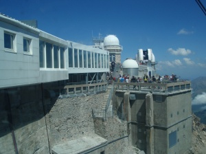 Observatory at the top of Pic Du Midi