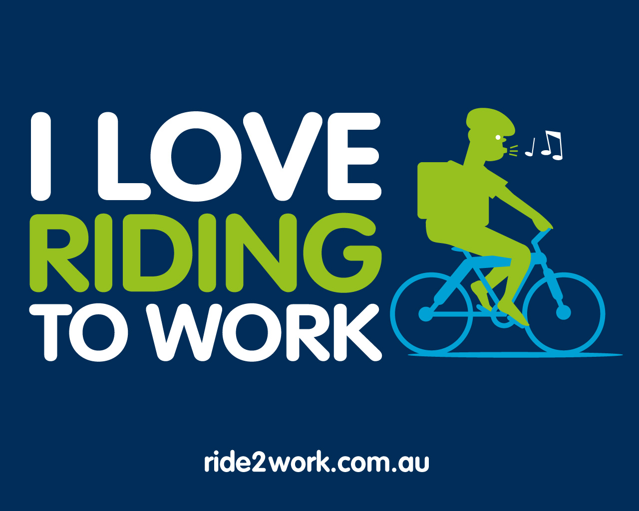 Ride Icon Wallpaper Ride to Work Day – 17 October